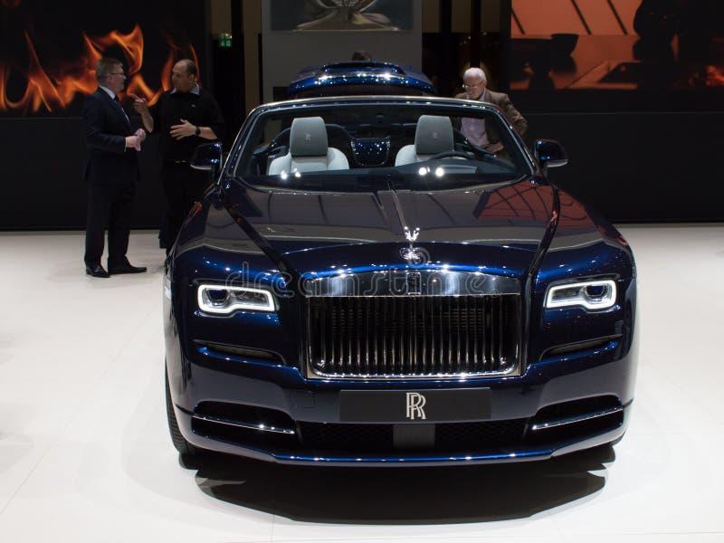 Rolls Royce Phantom Drophead em Genebra 2019 imagem de stock