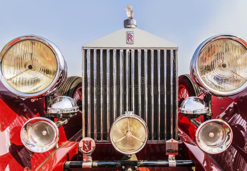 Rolls Royce Phantom 1 esporte Bar, 1926 modelos, 3127 centímetros cúbicos 6 de cylind imagens de stock royalty free