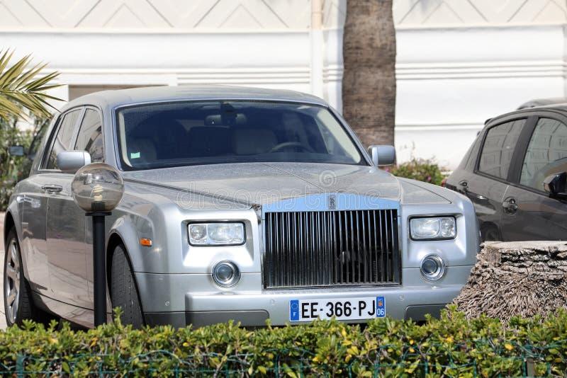 Rolls royce Phantom On The French Riviera foto de stock royalty free