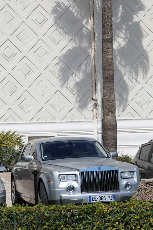 Rolls royce Phantom On The French Riviera fotos de stock