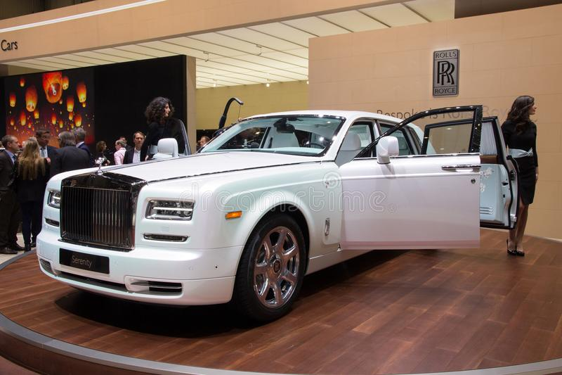 Rolls royce Phantom Serenity fotografia de stock royalty free