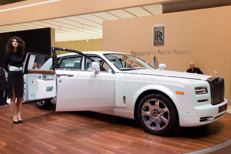 Rolls royce Phantom Serenity imagem de stock royalty free