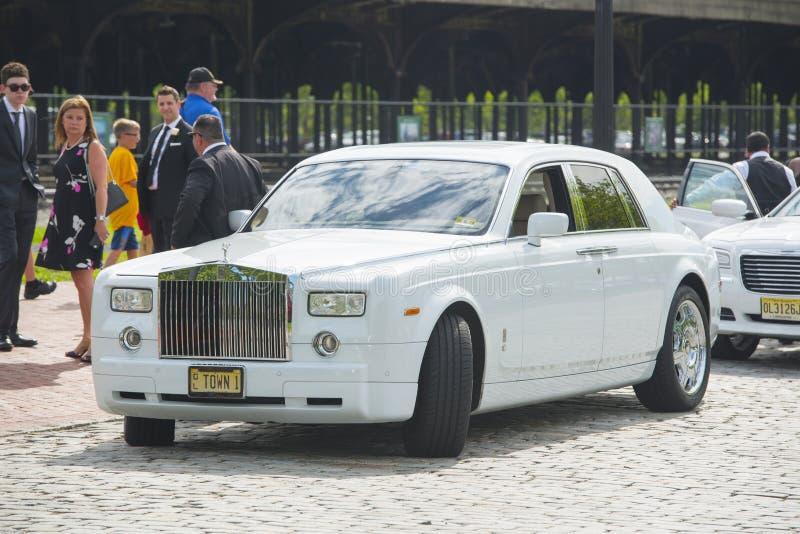 Rolls-Royce Phantom VII em New-jersey, EUA foto de stock royalty free