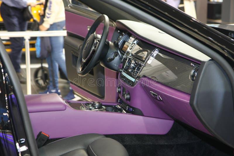 Rolls Royce przy Belgrade car show obrazy stock