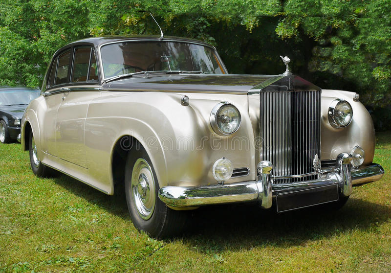 Rolls Royce, rocznika samochód obraz royalty free