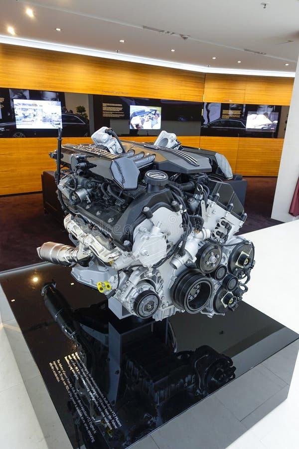 Rolls Royce silnik, BMW świat Monachium zdjęcia stock