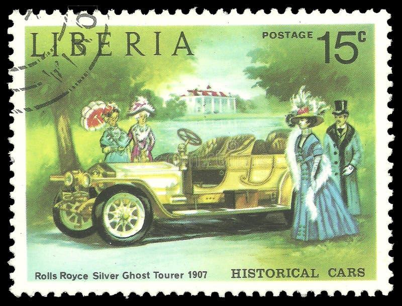 Rolls Royce Silver Ghost Tourer imagen de archivo