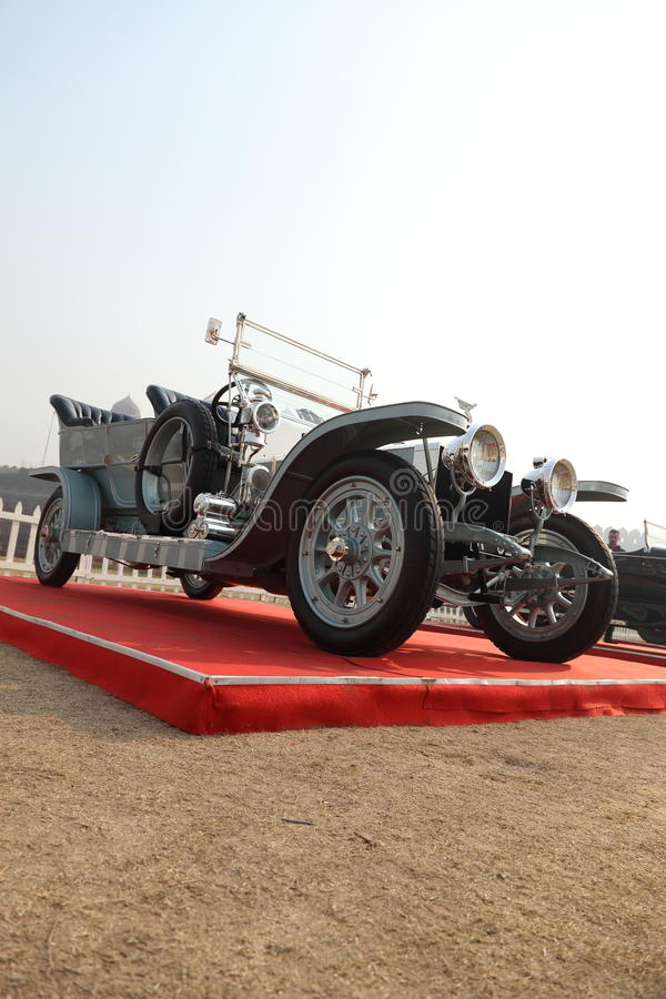 Rolls Royce, Silver Ghost, a Vintage Car royalty free stock images