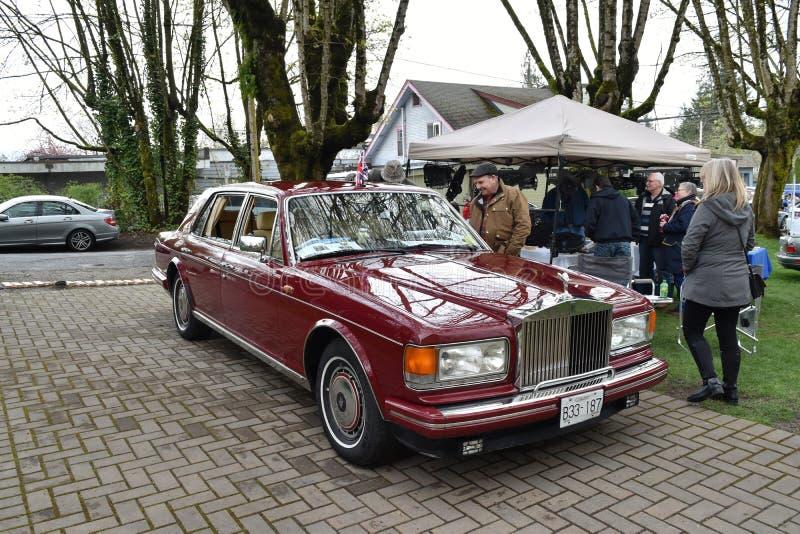 Rolls Royce Silver Spur II imagem de stock