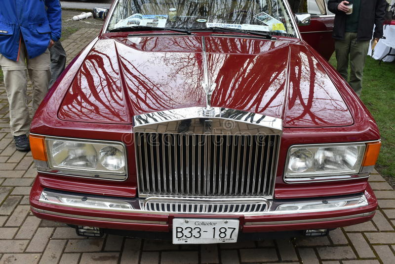 Rolls Royce Silver Spur II imagens de stock