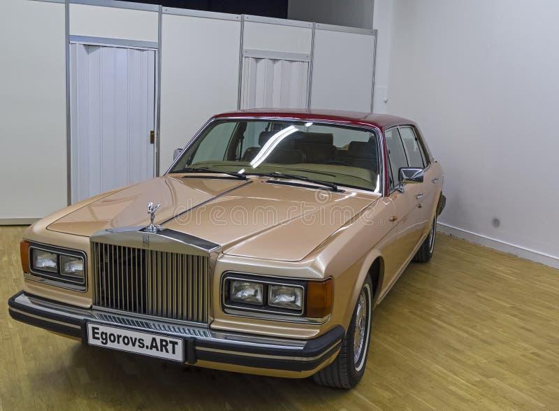 Rolls Royce Silver Spur Series 1 carro imagens de stock royalty free