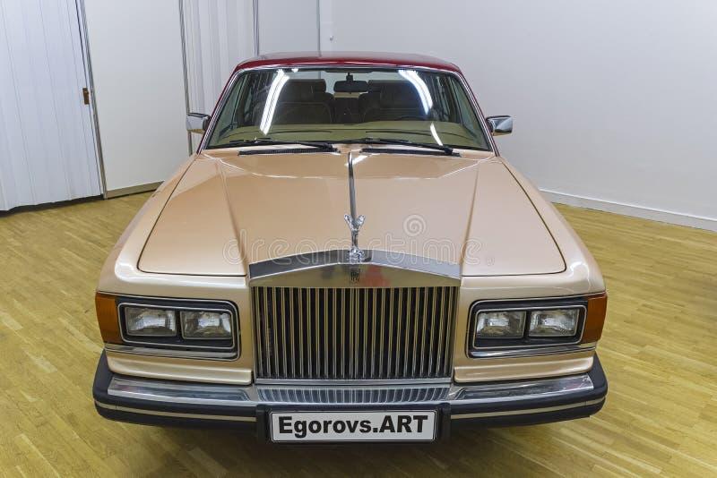 Rolls Royce Silver Spur Series 1 carro imagem de stock