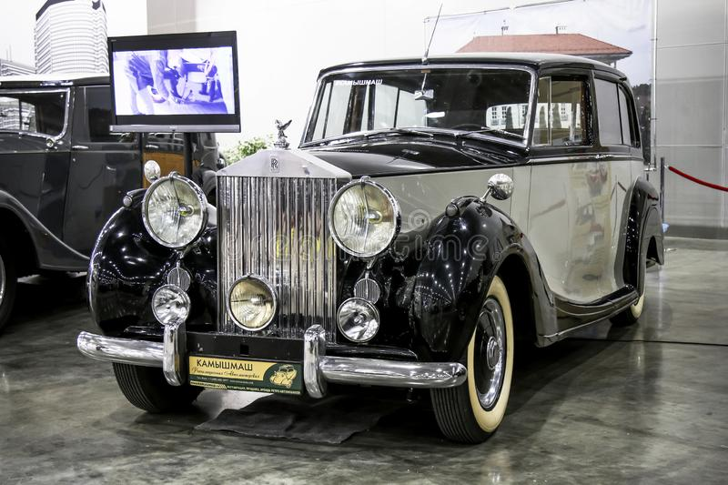 Rolls-Royce Silver Wraith royalty free stock image