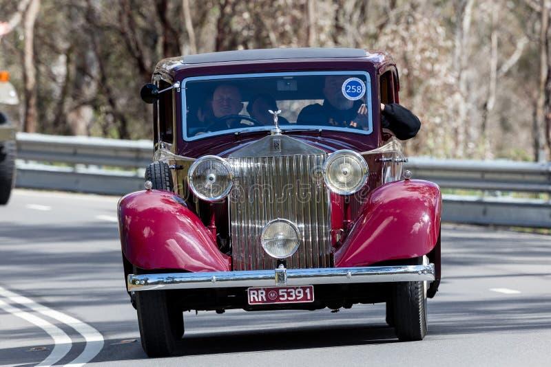 1935 Rolls Royce 20/25 sportów fotografia royalty free