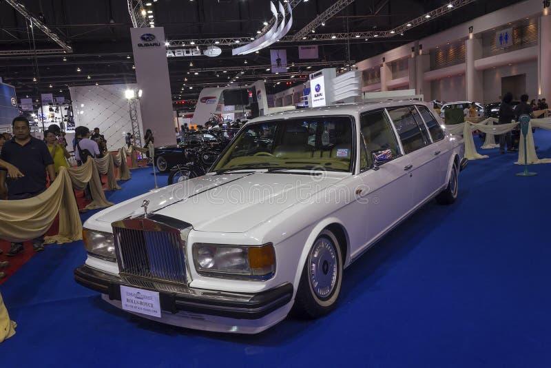 Rolls Royce srebra ostroga II 1994 (Limo) zdjęcie royalty free
