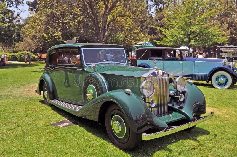 Rolls Royce srebra Wraith zdjęcia royalty free