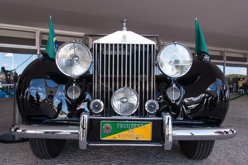 Rolls Royce srebra Wraith zdjęcie stock