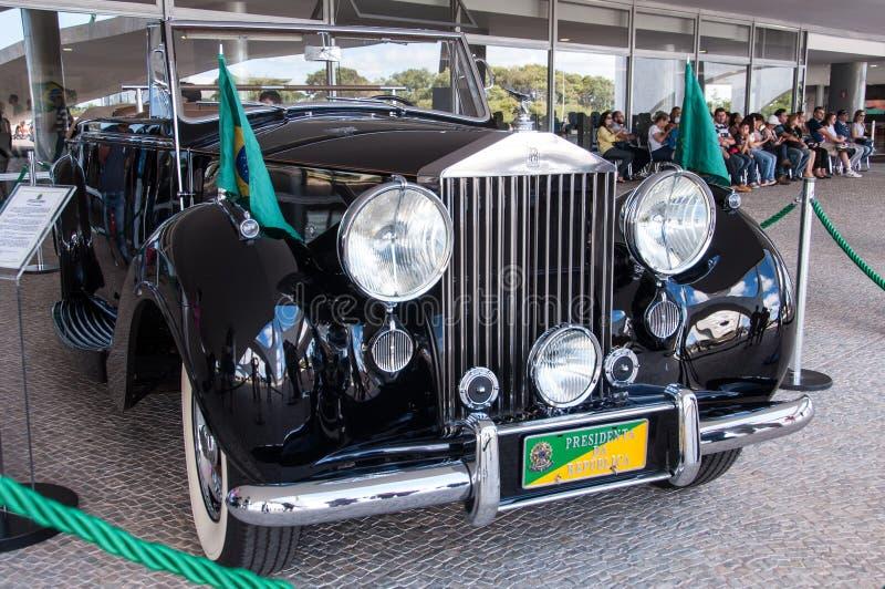Rolls Royce srebra Wraith fotografia stock