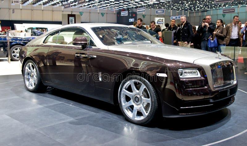 Rolls Royce vålnad 2014 arkivbilder