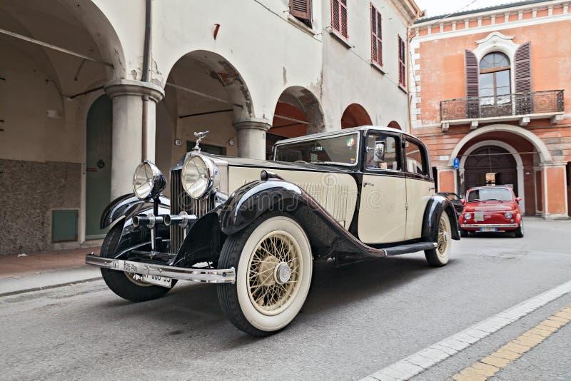 Rolls royce velha 20/25 fotografia de stock