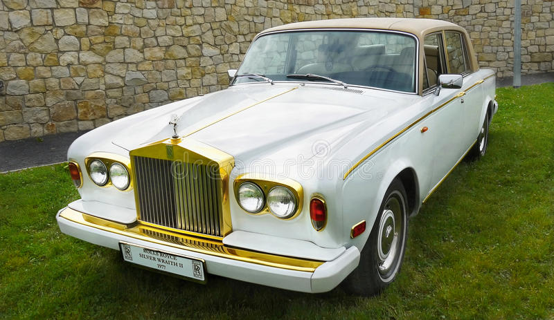 Rolls Royce, Vintage Classic Car royalty free stock image