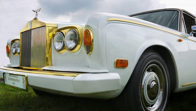 Rolls Royce, Vintage Classic Car royalty free stock photo