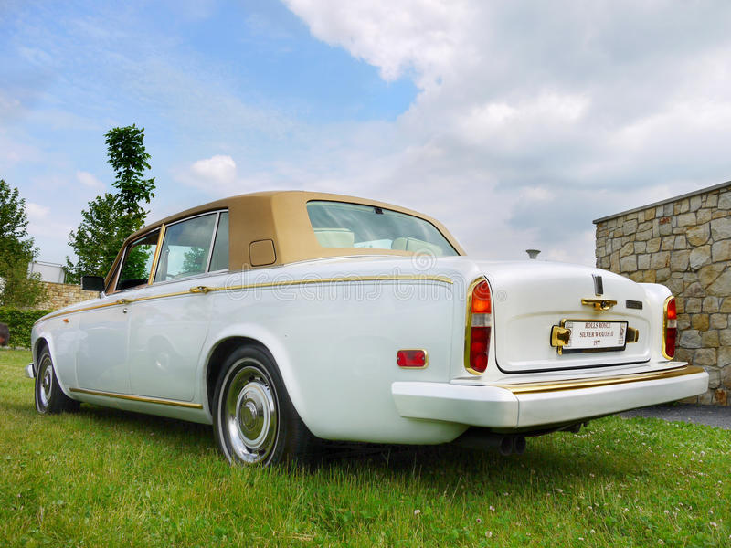 Rolls Royce, Vintage Classic Car royalty free stock photography