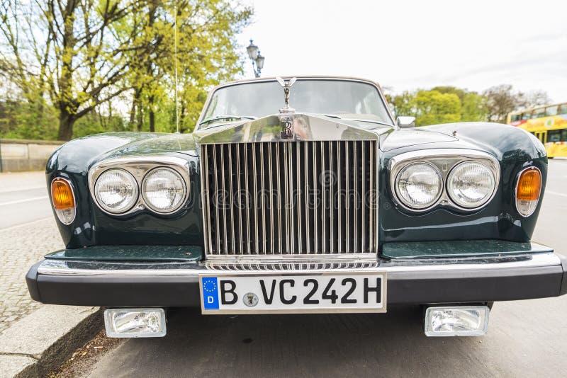 Rolls Royce w Berlin, Niemcy zdjęcia royalty free