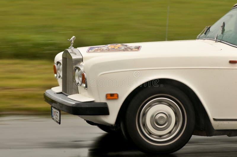 Rolls Royce w ruchu zdjęcie royalty free