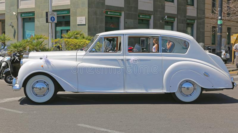 Rolls Royce Wedding Car fotos de stock