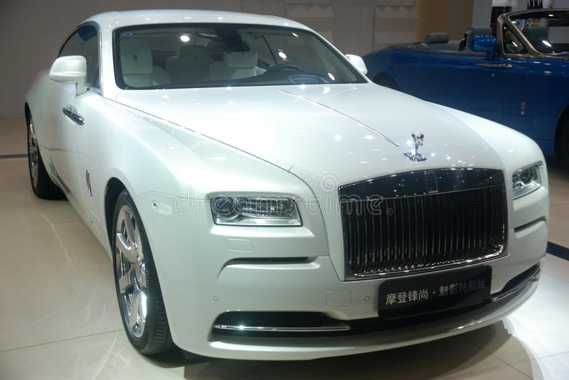 Rolls-Royce Wraith – Inspired by Fashion royalty free stock photos
