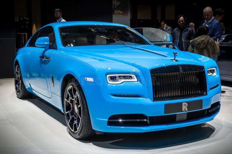 Rolls Royce Wraith Coupe 6 carro 6 luxuoso foto de stock