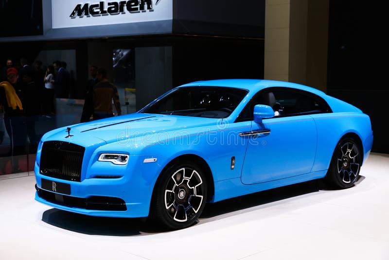 Rolls-Royce Wraith stock images