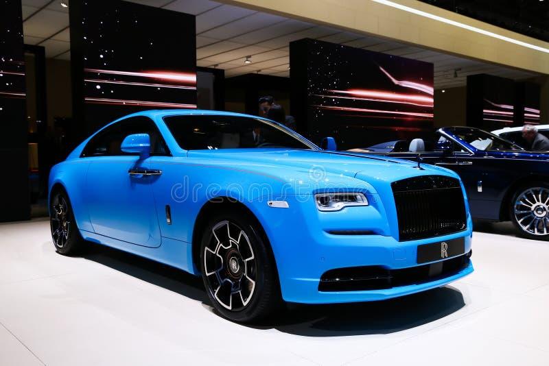 Rolls-Royce Wraith royalty free stock photography