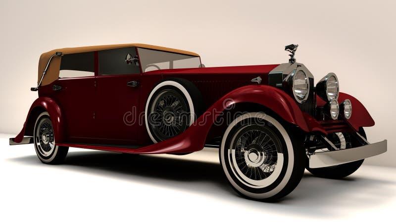 Rolls- Royceklassiker stock abbildung