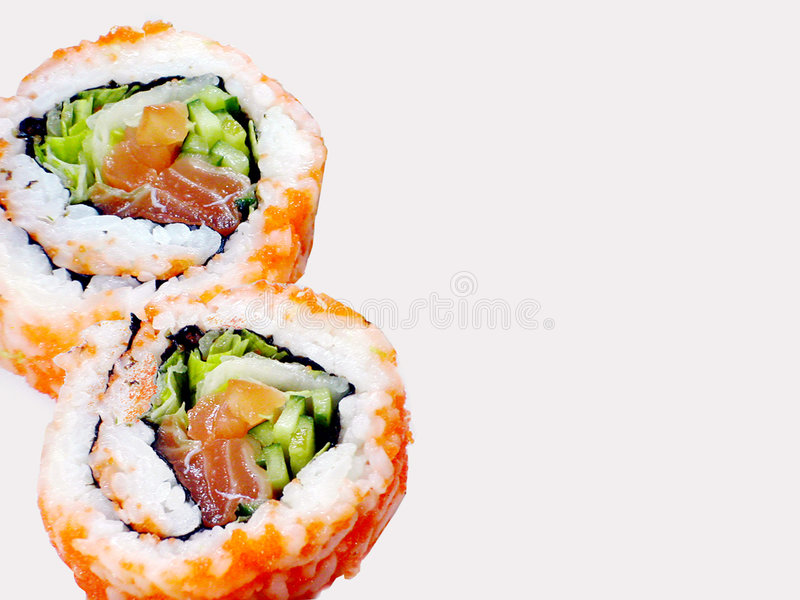 Download Rolls of Sushi stock image. Image of oriental, japan, healthy - 47389