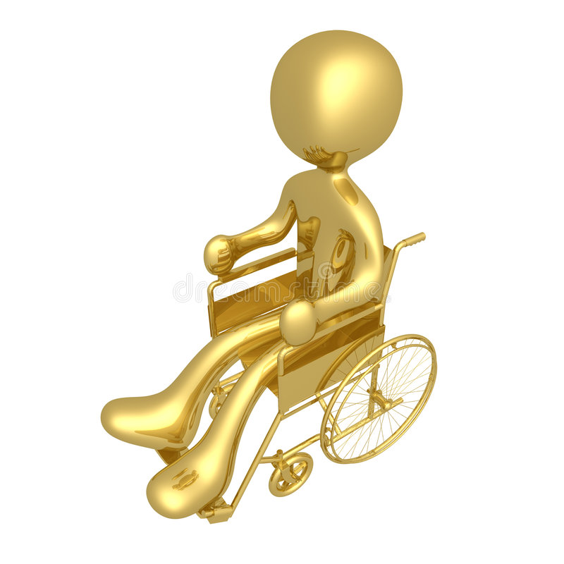 Rollstuhl vektor abbildung