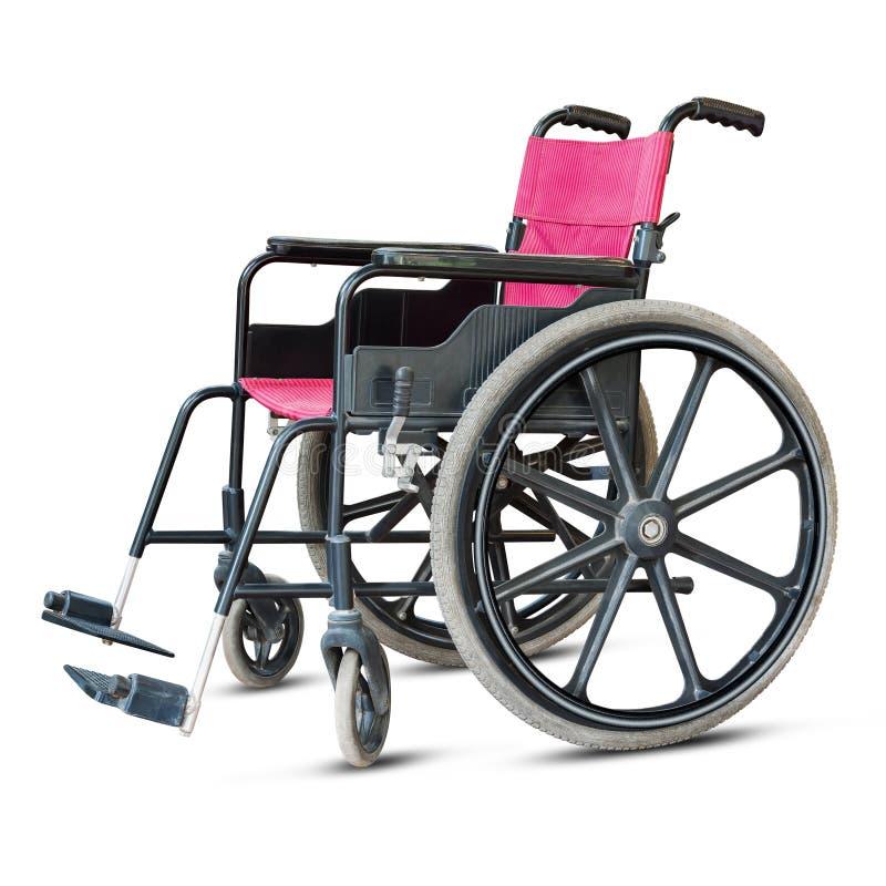 Rollstuhl getrennt lizenzfreies stockfoto
