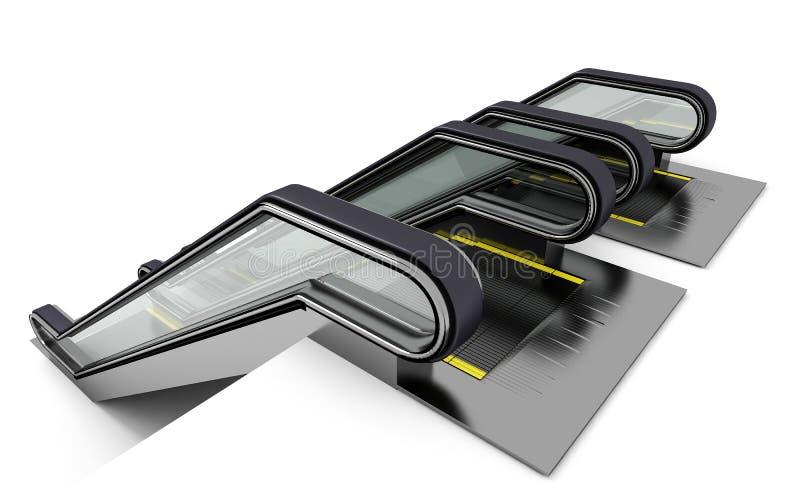 Download Rolltreppe zwei stock abbildung. Illustration von bewegung - 26357874