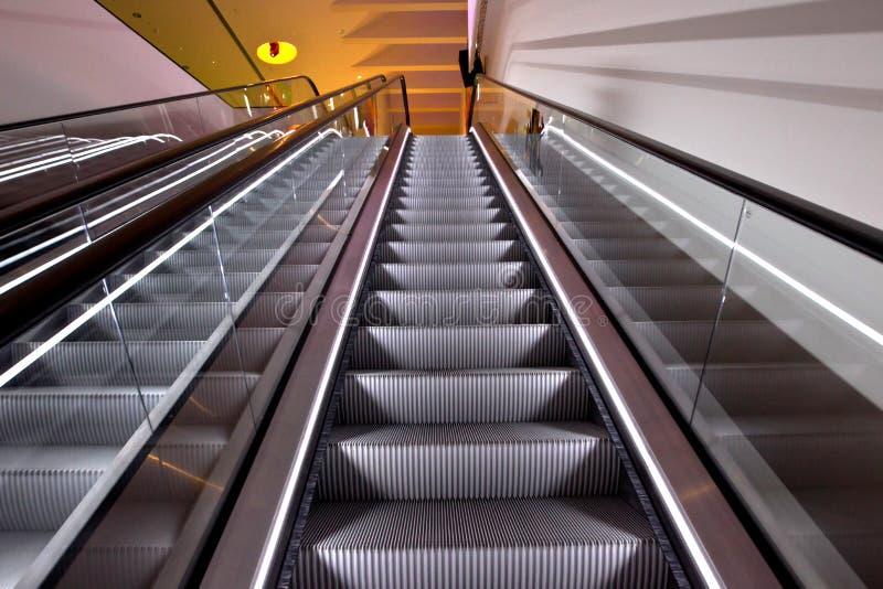 Rolltreppen stockfotografie