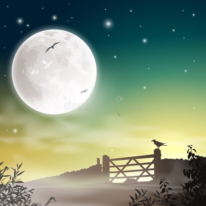 Rolna brama ilustracji