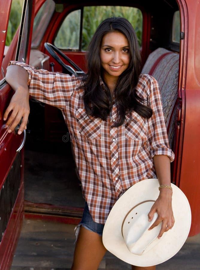rolna dziewczyna obraz royalty free