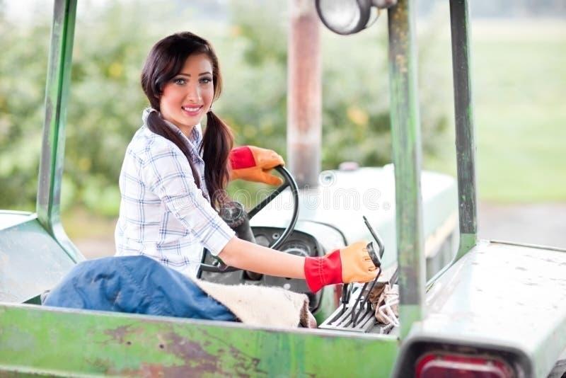 rolna dziewczyna zdjęcie stock