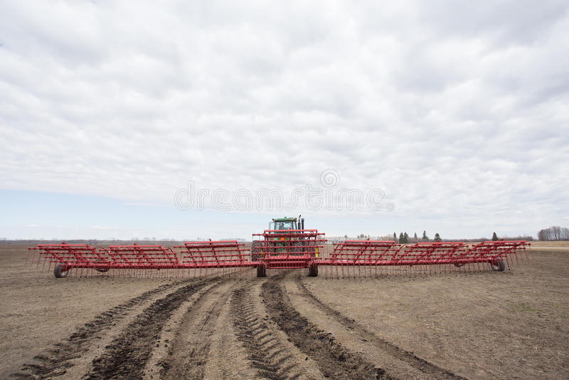 Rolna maszyneria zdjęcie stock