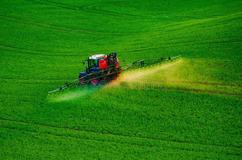 Rolnej maszynerii opryskiwania flit obraz stock