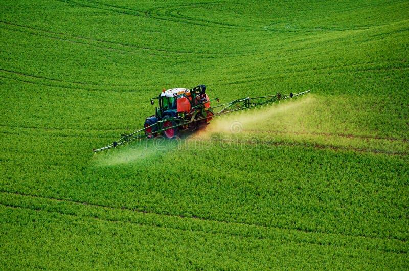Rolnej maszynerii opryskiwania flit obraz royalty free