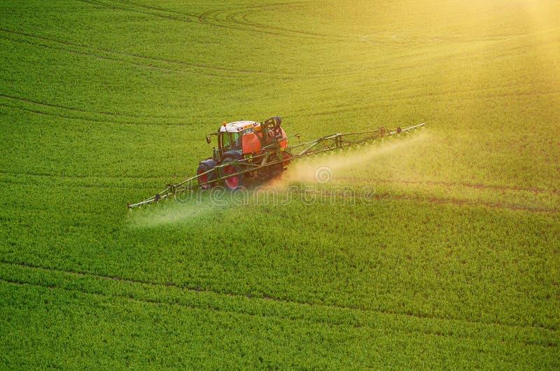 Rolnej maszynerii opryskiwania flit fotografia stock