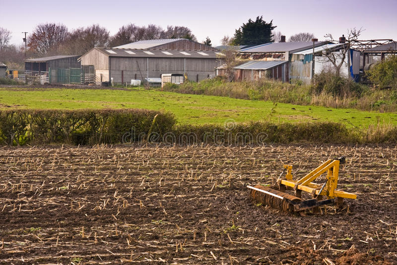rolnej maszyny jaty fotografia royalty free
