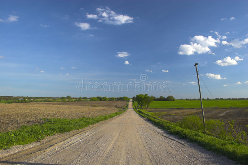 rolnej ziemi fotografia royalty free