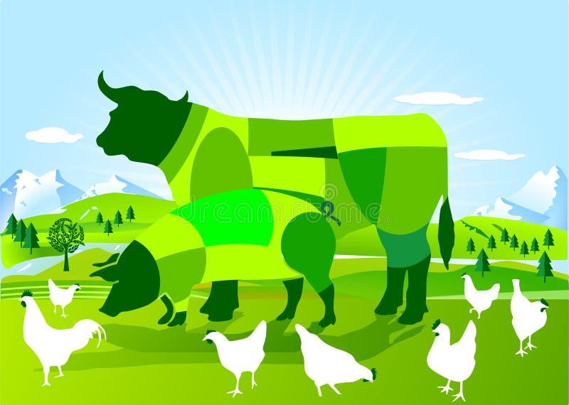 rolnictwa dynamiczny życiorys ilustracji